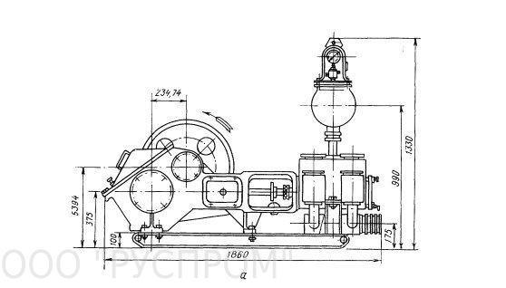 Буровые насосы НБ-32