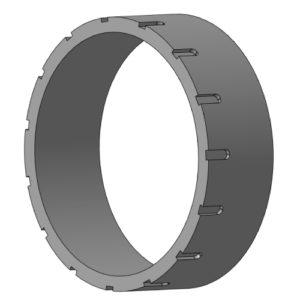 32НТП.01.002 Корпус уплотнения плунжера (Ø140)