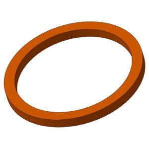 Втулка направляющая 6ПУ.003 (Ø90) (Бронзаль или бронза)