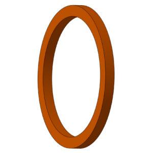 Втулка опорная 6ПУ.002 (Ø90) (Бронзаль или бронза)