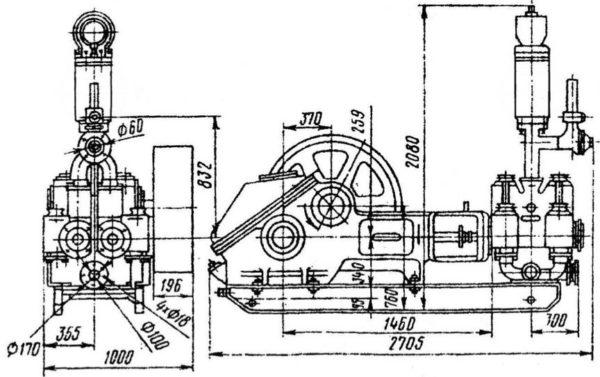 Буровые насосы НБ-125