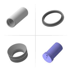 Запасные части к насосу НТП-175 (32НТП.00.000)