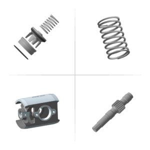 Запасные части для НБ32, НБ50, НБ80